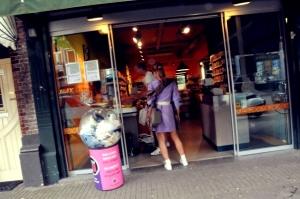 Purple Dress, Amsterdam
